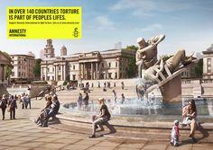 Lürzer's Archive - Best Of: Print Ads for Amnesty International