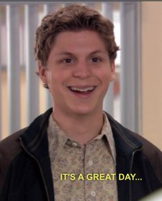 Michael Cera as George Michael Bluth in Arrested Development George Michael Arrested Development, Arrested Development Quotes, Micheal Cera, Michael Bluth, Reaction Pictures, Funny Pictures, Fantasy Team, Really Hot Guys, Film Industry