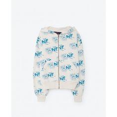 Seahorse Kids Sweatshirt - Raw White Niagra Falls available at Half Pint Shop! Free US shipping