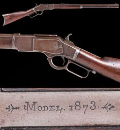 Winchester 1873, .44-40 caliber. Will be offered at auction in Fort Worth, TX on 6/10/17