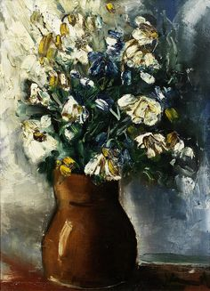 Vase with Flowers 17, by Maurice de Vlaminck (French, 1876-1958),