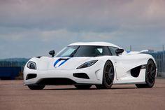 Top 10 - Carros mais rápidos do mundo