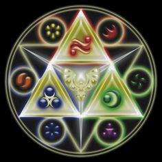 The Legend of Zelda: Ocarina of Time - Spiritual StoneTriforce! T-shirt $28.63