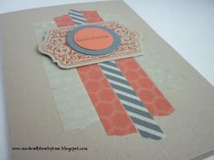 made with love by kme: Masking Tape