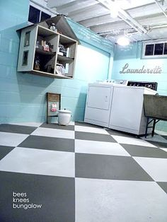 ah-mazing laundry room -- take the whole tour -- so many cute details <3
