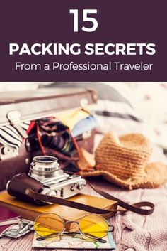 Packing Secrets From a Professional Traveler 15 Packing Secrets From a Professional Traveler Packing List For Travel, Packing Tips, Budget Travel, Barbados, Travel Advice, Travel Tips, Travel Hacks, Travel Ideas, Travel Destinations