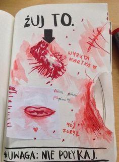 Podesłała Nina Wójcik #zniszcztendziennikwszedzie #zniszcztendziennik #kerismith #wreckthisjournal #book #ksiazka #KreatywnaDestrukcja #DIY