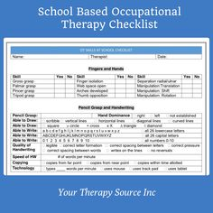 tenncare occupational therapy templates | Click on image to enlarge