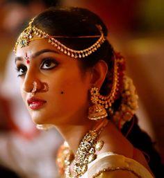 Stunning Telugu Bride and her diamond jewellery