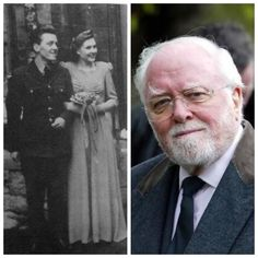 Richard Attenborough-Royal Air Force-WW2-1943-46-he was taken out of pilot training in 1944 and transferred to a RAF film unit. After completing a morale raising movie, he requested transfer back to a operational unit & flew air recon missions over Germany. (Actor)