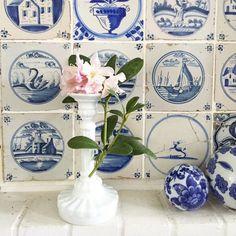 Kerzenständer als Blumen Vase
