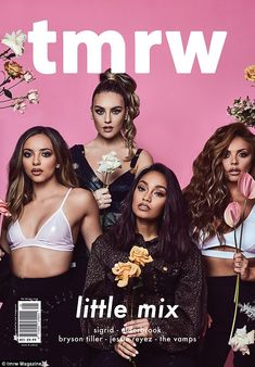 pinterest    ☽ @kellylovesosa ☾'We cry on each other's shoulders': The Little Mix girls have admitted that they look to e...