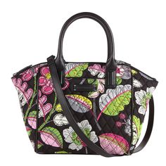 Trimmed Satchel in Moon Blooms, $78 | Vera Bradley
