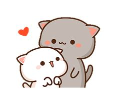 Cute Love Pictures, Cute Cartoon Pictures, Cute Couple Cartoon, Cute Love Gif, Cute Love Cartoons, Cute Bunny Cartoon, Cute Anime Cat, Cute Cat Gif, Cute Kawaii Animals