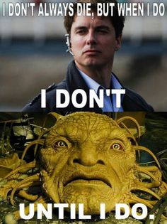 Face of Boe~~Captain Jack Harkness #doctorwho