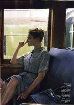Natalia Vodianova  shot by Annie Leibovitz  for Vogue