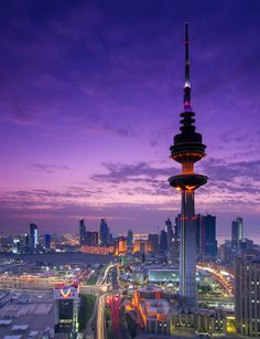 Liberation Tower   Kuwait (by Mohammad Awadh)
