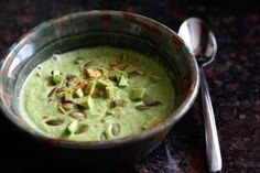 5. Vegan cream of broccoli soup | 31 Gluten Free Dishes To Make In November