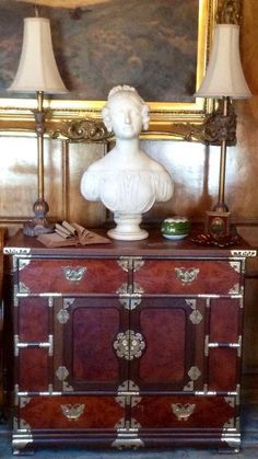 Oriental Style Cabinet, Traditional Feel