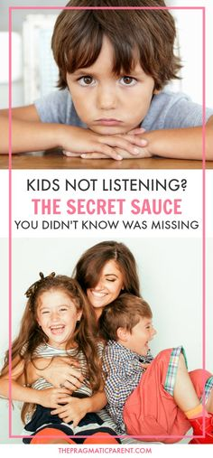 If it seems like your kids never listen to you, it might be time to learn the secret sauce to help your relationship and get your kids to listen. Learn the number of times to say Yes for every No and almost immediately see the big results that take place.  #haveagreatrelationshipwithyourkids #positiveparentingtool