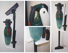 Support mural pour aspirateur PAS 18 LI Bosch,contreplaqué,support mural,PAS 18 LI,Aspirateur sans fil,Aspirateur balai,Aspirateur sans sac,manche à balai,vis penture,fixation murale