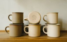 Atelier Dion ceramic mugs for Sightglass Coffee on Remodelista