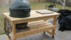 How to get the Big Green Egg in the Table