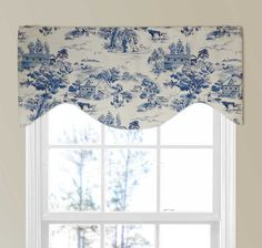 """Farmhouse Kitchen Valance 58/""""x17/"""" with Rooster Chicken Farmhouse Country Valance"""