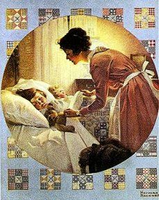 Shop for ''Mother's Little Angel'' by Norman Rockwell Americana Art Print x 12 in. Get free delivery On EVERYTHING* Overstock - Your Online Art Gallery Store! Norman Rockwell Prints, Norman Rockwell Paintings, Walter Crane, Peintures Norman Rockwell, The Saturdays, Norman Rockwell Christmas, Munier, Edmund Dulac, Mother And Child