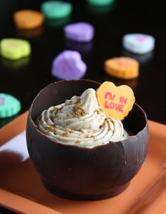 Sprinkle Bakes: Chocolate Chai Cups and a Tutorial: How to Make Chocolate Vessels