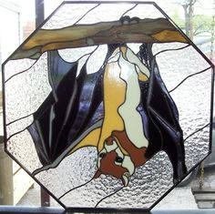 stained glass bat - Google Search
