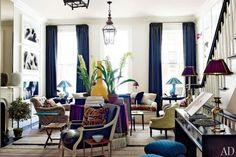Blue details. #color #decor #interior #design #casadevalentina