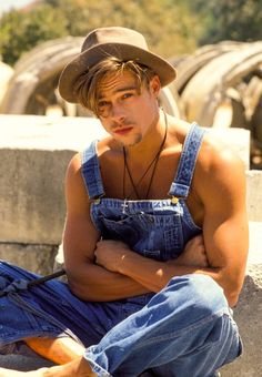 "80sloove: ""Brad Pitt """
