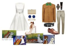 """""""Holidays with the O'Malleys"""" by lumosdragon ❤ liked on Polyvore featuring Lattori, Topman, Sophia Webster, Allurez, La Regale, 40 Colori, Apt. 9, Citizen, MANGO and Billy Jealousy"""
