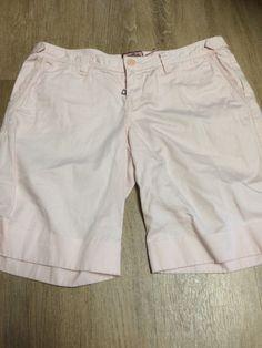 Juicy Couture Women's Pale Pink Lace Bermuda Shorts Size 4 #JuicyCouture #BermudaWalking