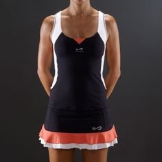 12 Winter Tennis Outfits for Women you will totally love! Tennis Skirts, Sports Skirts, Tennis Clothes, Tennis Wear, Tennis Dress, Athletic Outfits, Sport Outfits, Tennis Outfits, Tennis Fashion
