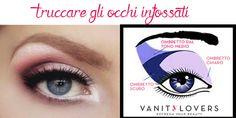 Hai gli occhi infossati? Ecco come truccarti! http://www.vanitylovers.com/prodotti-make-up-occhi/ombretti.html?utm_source=pinterest.com&utm_medium=post&utm_content=vanity-ombretti&utm_campaign=pin-vanity