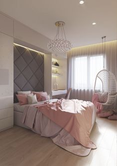 Small Bedroom Ideas Make Your Home. Browse bedroom decorating ideas and layo… Small Bedroom Ideas Make Your Home. Browse bedroom decorating ideas and layouts. Discover bedroom ideas and design inspiration. Dream Rooms, Dream Bedroom, Home Bedroom, Modern Bedroom, Bedroom Decor, Feminine Bedroom, Bedroom Sets, Girls Bedroom, Small Rooms