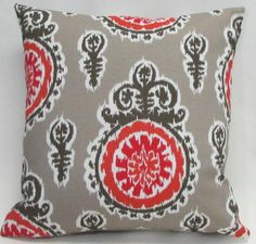 OUTDOOR Ikat 18 Reversible to back Outdoor Pillow by ShopPillows on Etsy, $49.00