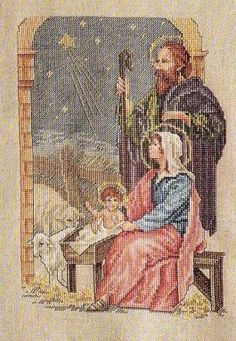 Nativity n Is For Night Christmas Sampler Cross Stitch Pattern Baby Jesus Mary Quilt Stitching, Cross Stitching, Cross Stitch Embroidery, Embroidery Patterns, Cross Stitch Patterns, Xmas Cross Stitch, Just Cross Stitch, Crochet Cross, Christmas Embroidery