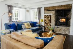 Luxury self-catering cottage for couples on the Roseland, Cornwall