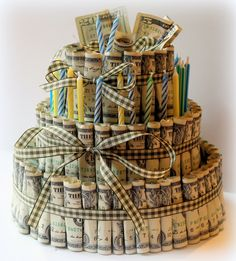 Money Birthday Cake Fin Ish Me Cupcakes The Wealthy Money Cake. Money Birthday Cake Us Dollar Money Cake For Lloyds Birthday Jocakes. Money Birthday Cake 12 Made Out Of 100 Bill Money Cakes Photo Dollar Bill Birthday. Birthday Money Gifts, Happy Birthday, 27th Birthday, Diy Birthday, Graduation Gifts, Gift Money, Birthday Cakes, Money Gifting, Money Box
