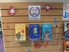 David Walliams - author of the month