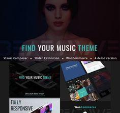 Web Themes, Website Themes, Wordpress Template, Wordpress Theme, Entertainment Websites, Web Design Projects, Free Advertising, Music Magazines, Website Design Inspiration