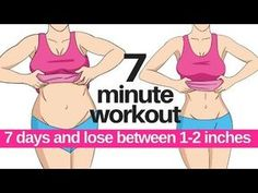7 DAY CHALLENGE - 7 MINUTE WORKOUT TO LOSE BELLY FAT - HOME WORKOUT TO LOSE INCHES - START TODAY - YouTube