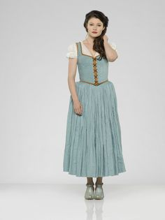 "Once Upon A Time S3 Emilie de Ravin as ""Belle French"""