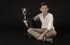 Photograph The boy and his dog by Conny van Kordelaar on 500px