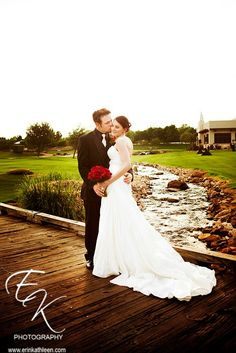 Gorgeous setting, wedding dress  from Circle Park Bridal Boutique.