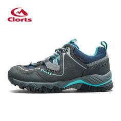 Clorts Suede Leather Hiking Shoes Outdoor Footwear-HKL-826E