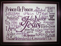 Free Cross Stitch Designs featuring Bible Verses, Free cross-stitch charts, Stitch a gift of encouragement and praise, Free charts and Stitching Instructions Free Cross Stitch Charts, Prince Of Peace, Needle Minders, Jesus On The Cross, Friendship Gifts, New Hobbies, Cross Stitch Designs, Cross Stitch Embroidery, Free Design